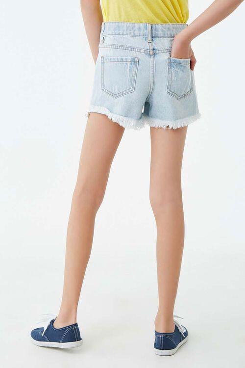 Girls Distressed Denim Shorts (Kids), image 3