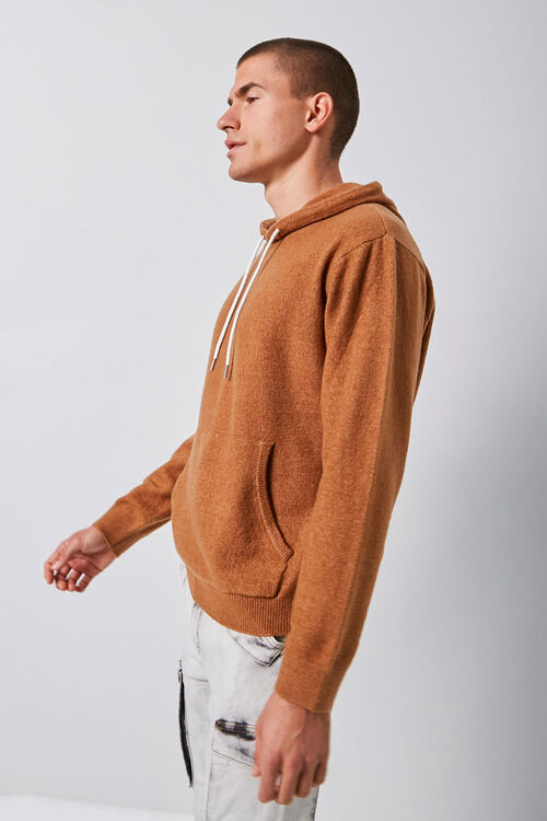Hooded Knit Sweater, image 2