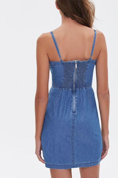 Chambray Mini Dress, image 3