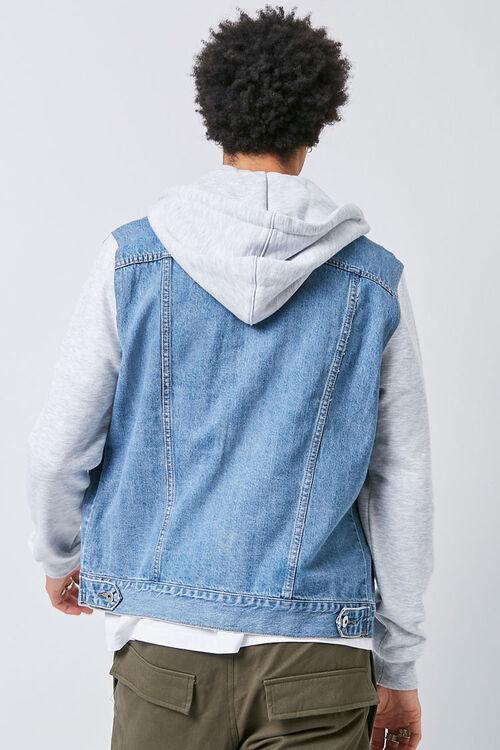 Combo Hooded Denim Jacket, image 3