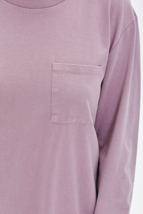 Long-Sleeve T-Shirt Dress, image 5