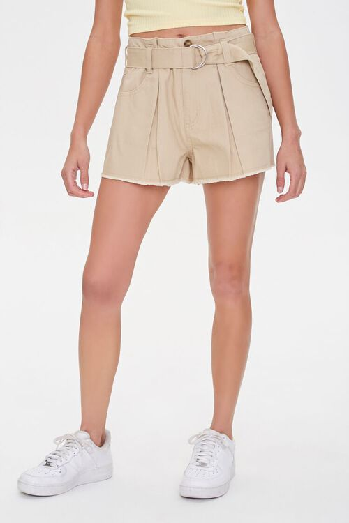 Pleated High-Rise Shorts, image 2