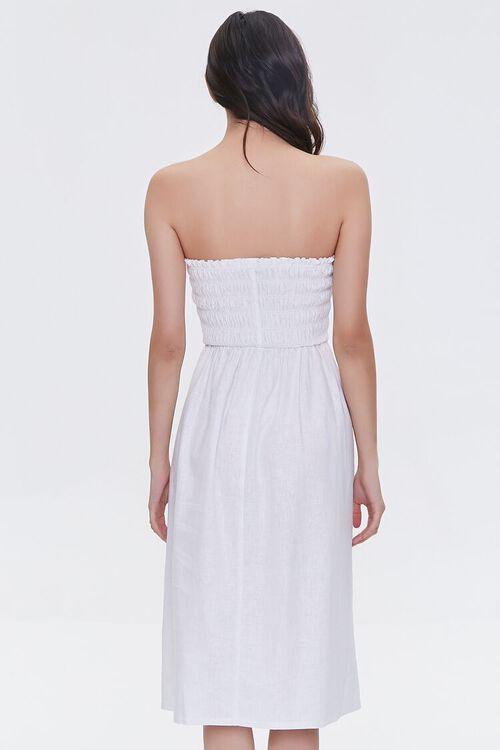 Smocked Strapless Dress, image 4