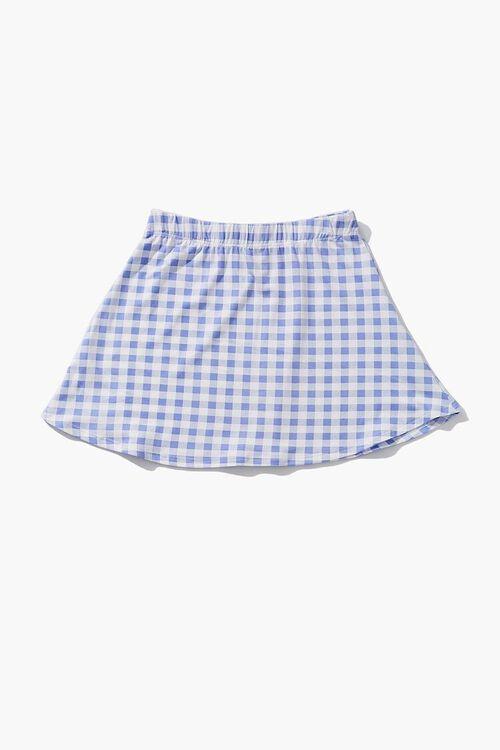 Girls Gingham Skirt (Kids), image 2