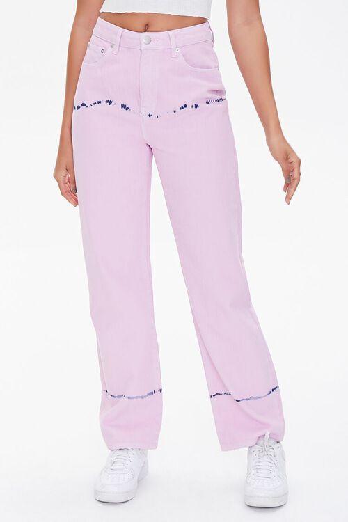 Tie-Dye Straight Jeans, image 2