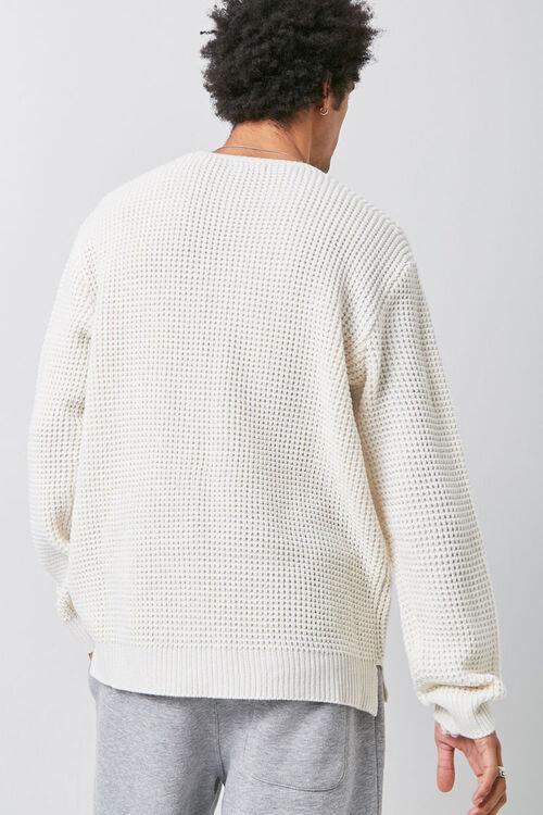 Waffle Knit Sweater, image 3