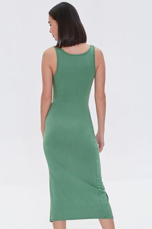 Ruched Drawstring Midi Dress, image 3