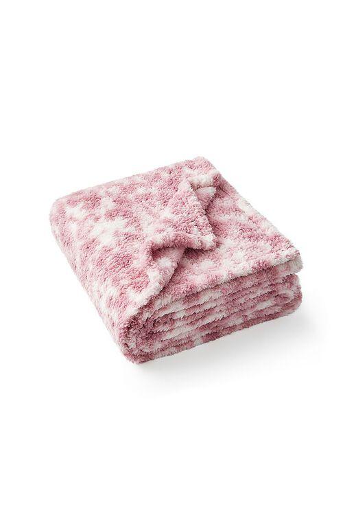 Tie-Dye Faux Shearling Blanket, image 2