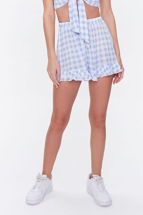 Gingham Crop Top & Shorts Set, image 6