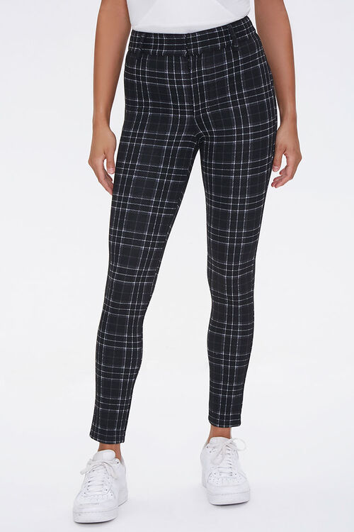 Plaid Ankle Pants, image 2