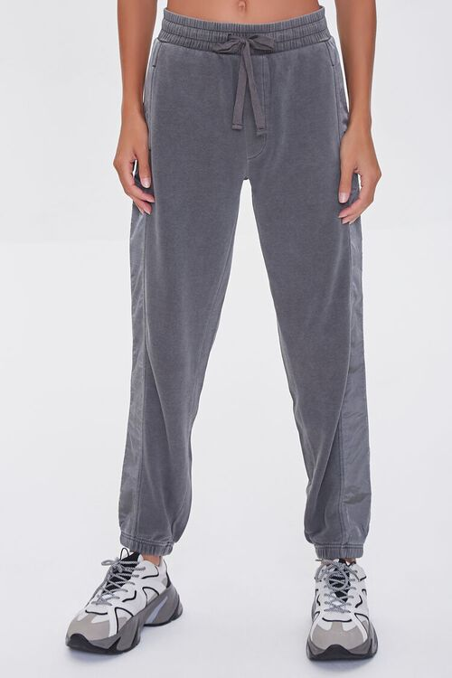 CHARCOAL Side-Striped Joggers, image 2
