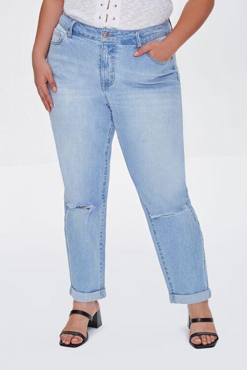 Plus Size Premium Boyfriend Jeans, image 2