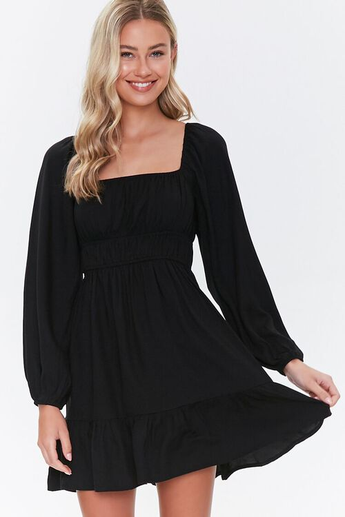 Peasant Mini Dress, image 2