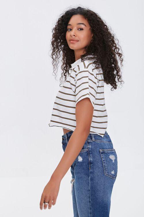 Striped Polo Shirt, image 2