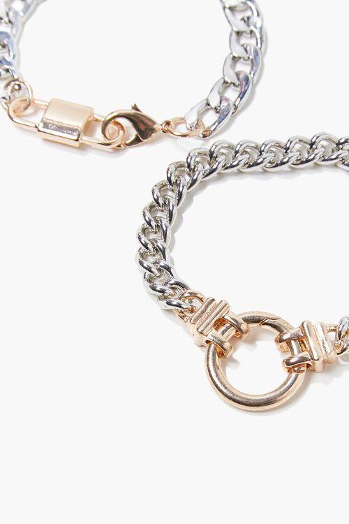Curb Chain Bracelet Set, image 2