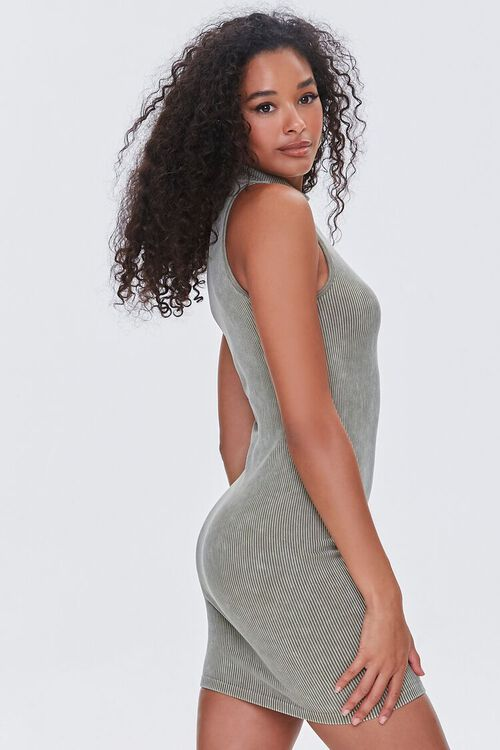 OLIVE Seamless Ribbed Bodycon Tank Dress, image 2