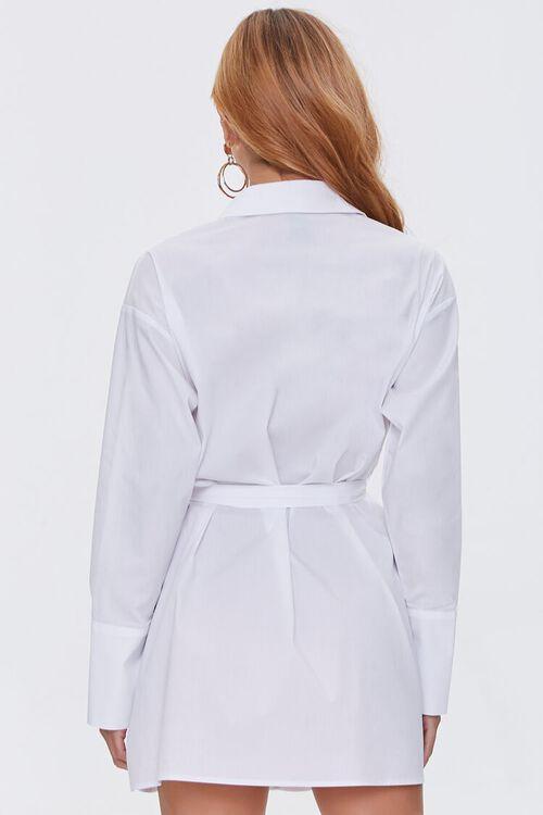 Belted Mini Shirt Dress, image 3