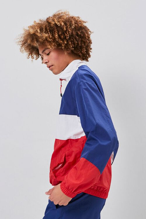 Zip-Up Colorblock Windbreaker, image 2