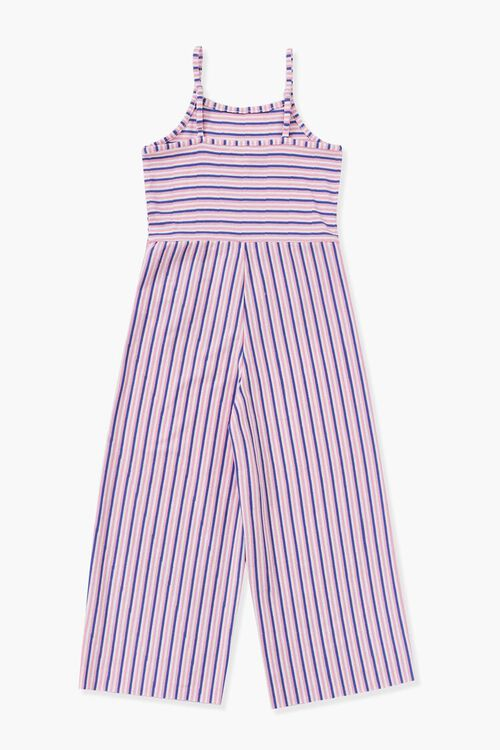 Girls Striped Cami Jumpsuit (Kids), image 2