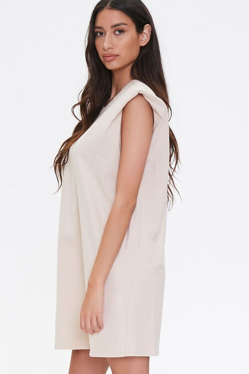 T-Shirt Shoulder Pad Dress, image 2