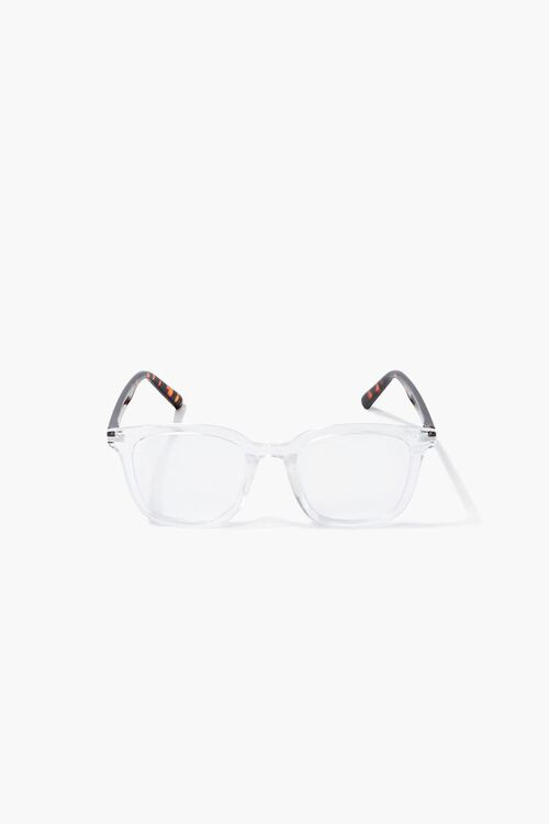 CLEAR/CLEAR Blue Light Reader Glasses, image 3