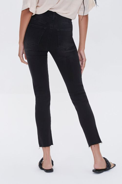 High-Rise Frayed Mom Jeans, image 4