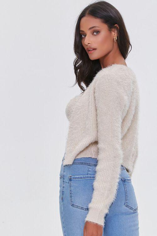 OATMEAL Cami Cardigan Sweater-Top, image 2