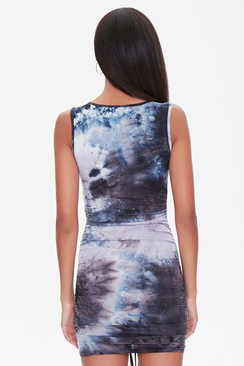 Ruched Tie-Dye Mini Dress, image 3