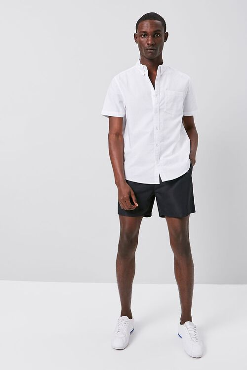 Fitted Oxford Pocket Shirt, image 4
