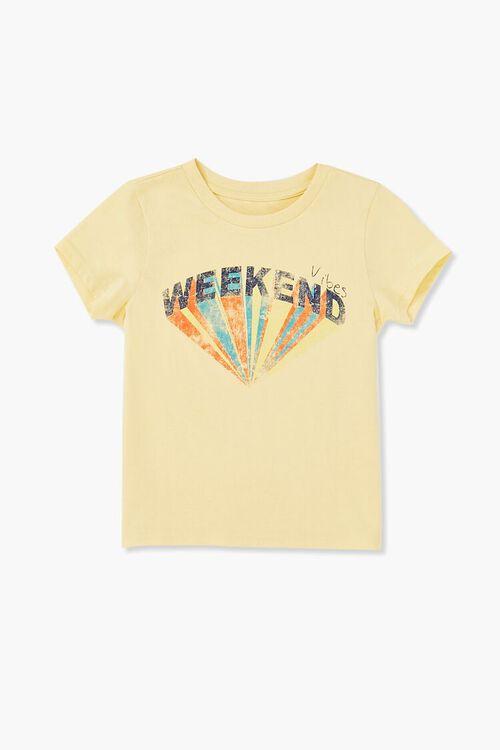 Girls Weekend Vibes Graphic Tee (Kids), image 3