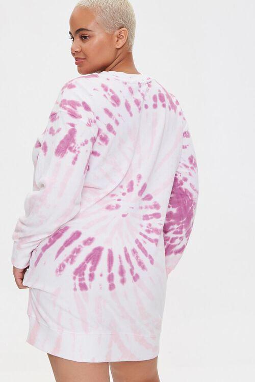Plus Size Tiger Graphic Sweatshirt Dress, image 3