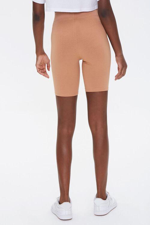 CAMEL Basic Cotton-Blend Biker Shorts, image 4