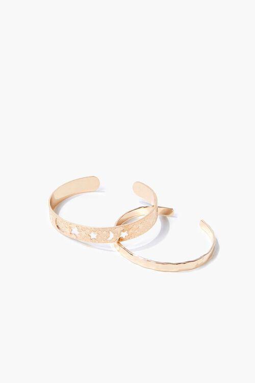 Star Cutout Cuff Bracelet Set, image 2