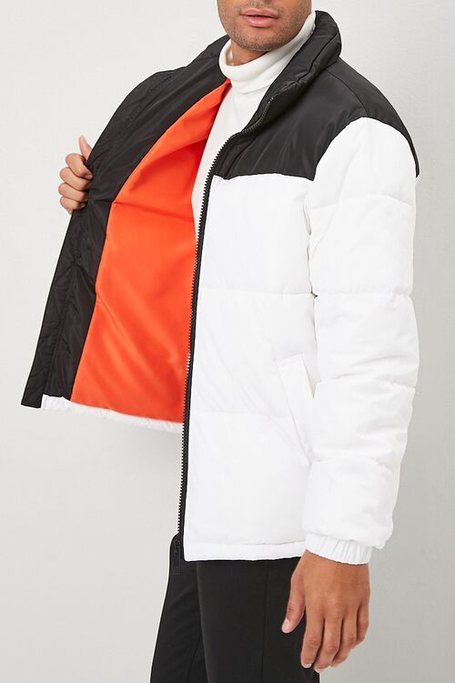 Colorblock Puffer Jacket, image 2