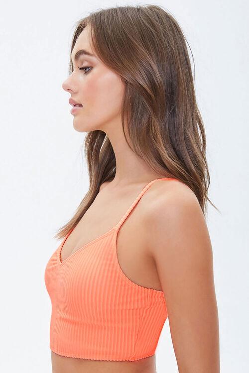 Ribbed High-Cut Bikini Bottoms, image 2
