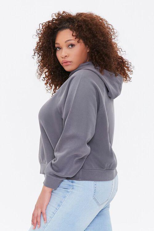 Plus Size Fleece Hoodie, image 2
