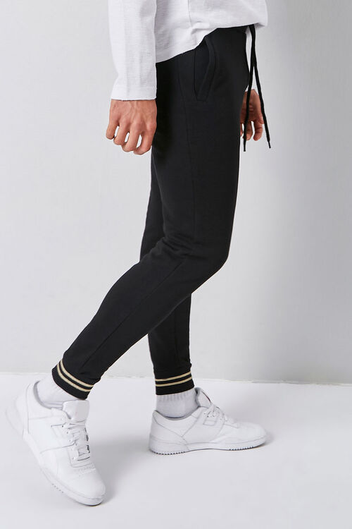 Varsity Striped-Trim Joggers, image 3