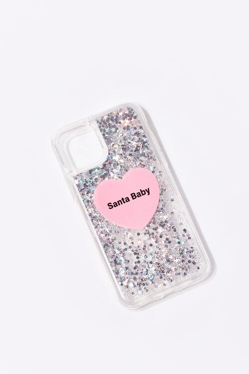 PINK/MULTI Santa Baby Case for iPhone 11 Pro, image 1
