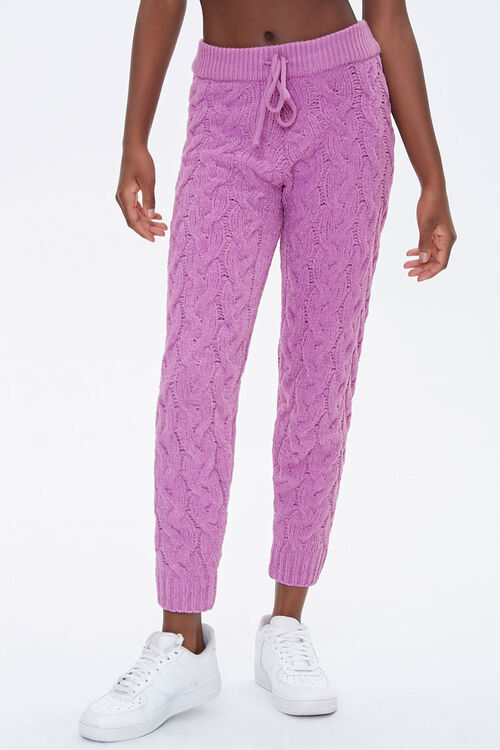 Cable-Knit Ankle Pants, image 2