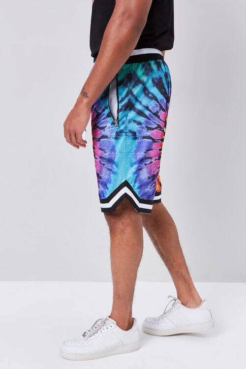 Tie-Dye Wash Drawstring Shorts, image 3