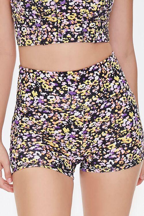 Active Floral Biker Shorts, image 5