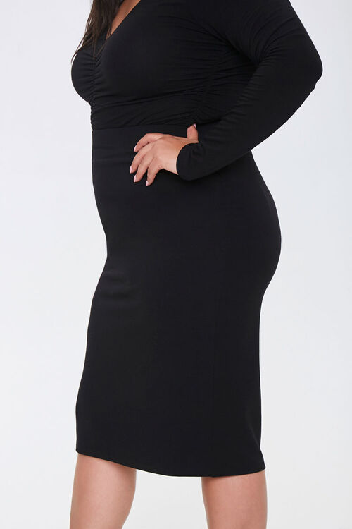 Plus Size High-Rise Skirt, image 3