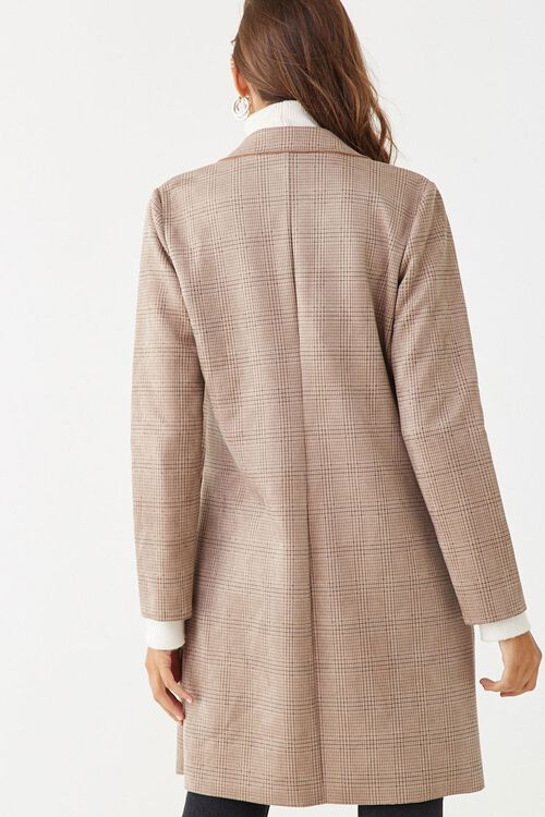 Faux Suede Glen Plaid Jacket, image 3