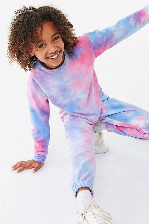 Girls Tie-Dye Joggers (Kids), image 1
