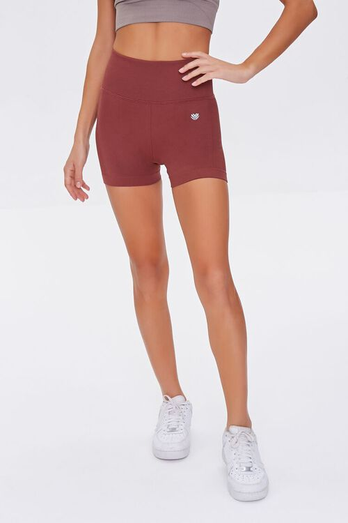 Active Seamless High-Waist Shorts, image 2