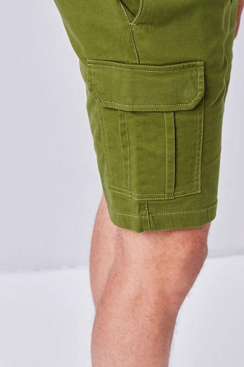 OLIVE Drawstring Cargo Shorts, image 5