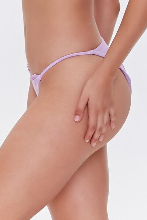 Ruffled String Bikini Bottoms, image 3