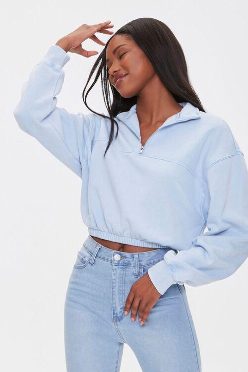Fleece Half-Zip Pullover, image 1