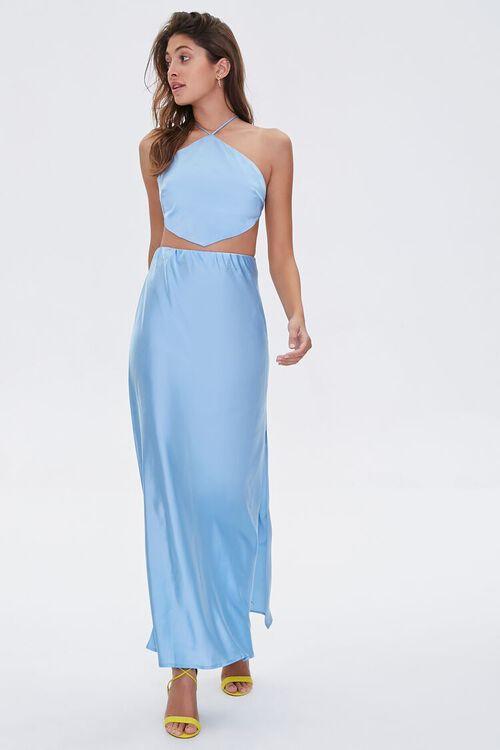 Satin Maxi Skirt, image 5
