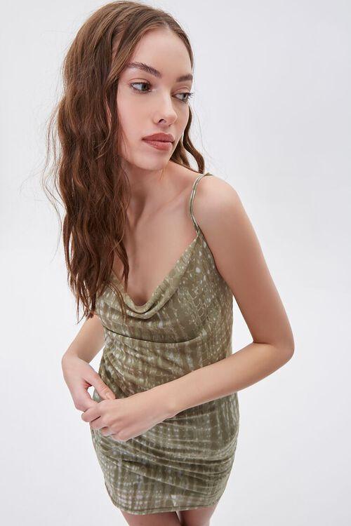 Abstract Print Cami Mini Dress, image 1